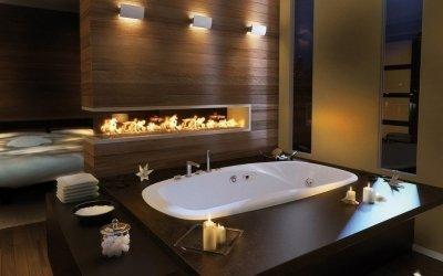 Современный дизайн ванной комнаты +80 фото