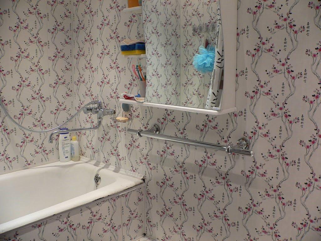 Стены из пластика в ванной