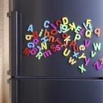 Магнитные буквы на холодильнике