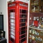 Холодильник телефонная будка