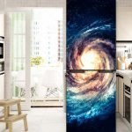 Космос на холодильнике