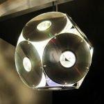 Светильник из дисков
