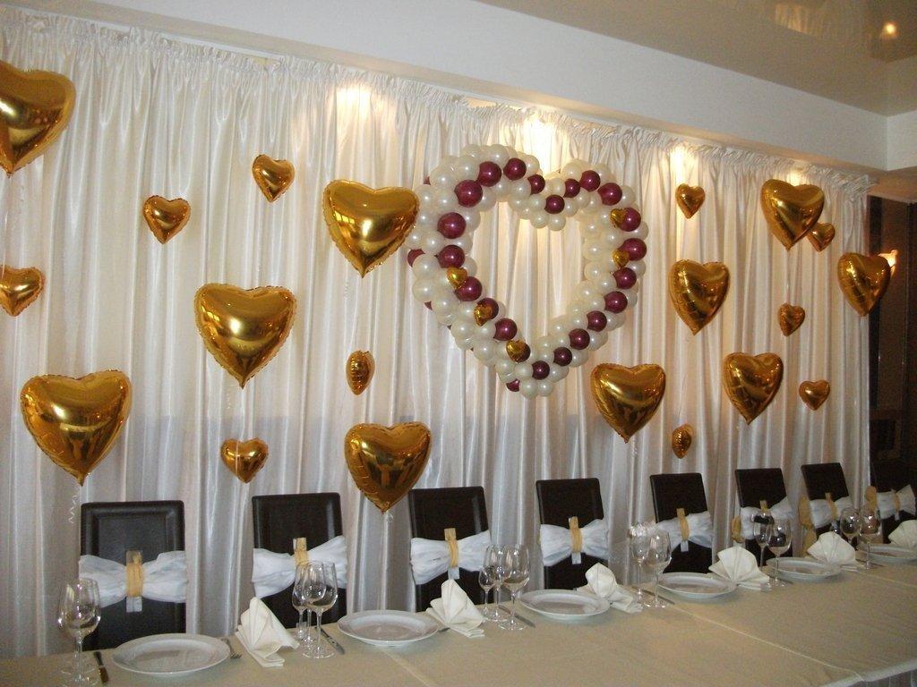 Украсить зал для свадьбы своими руками недорого 368
