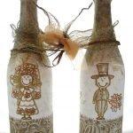 Шампанское с женихом и невестой