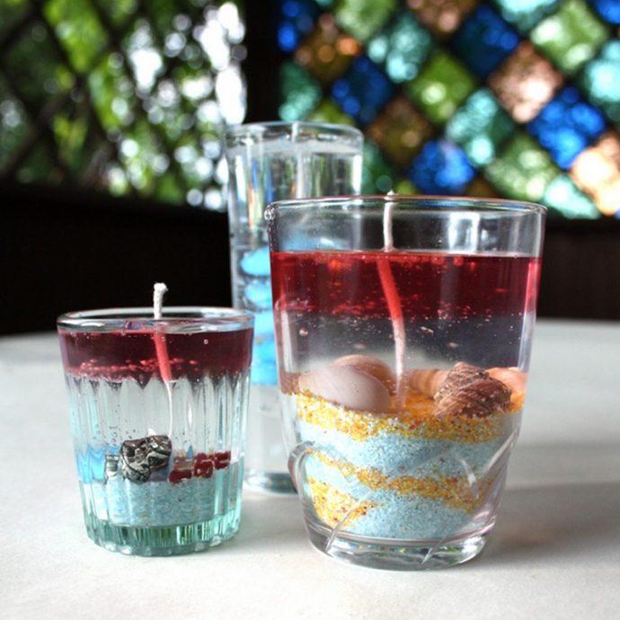 Как сделать свечку своими руками в стакане 32