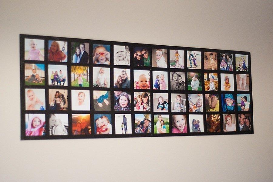 Фотоколлаж на стену в подарок 38