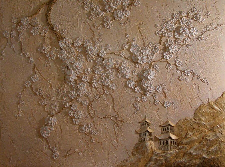 Фактура стен своими руками фото