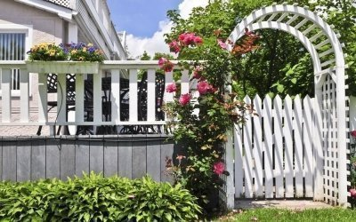 Декоративный забор своими руками +50 фото