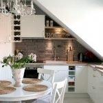 Декоративные буквы на кухне