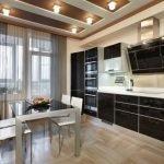 Дизайн кухни в частном доме +130 фото идей интерьера
