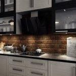 Кухня со стильным интерьером