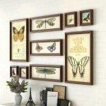 Картины с бабочками в рамках