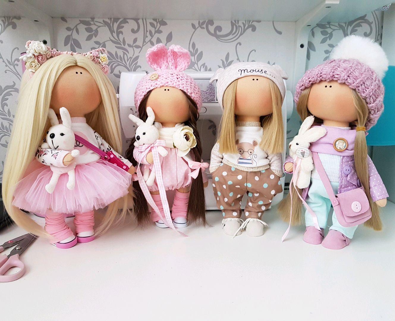 Текстильная кукла изготовление своими руками 994