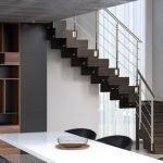 Современная лестница в доме
