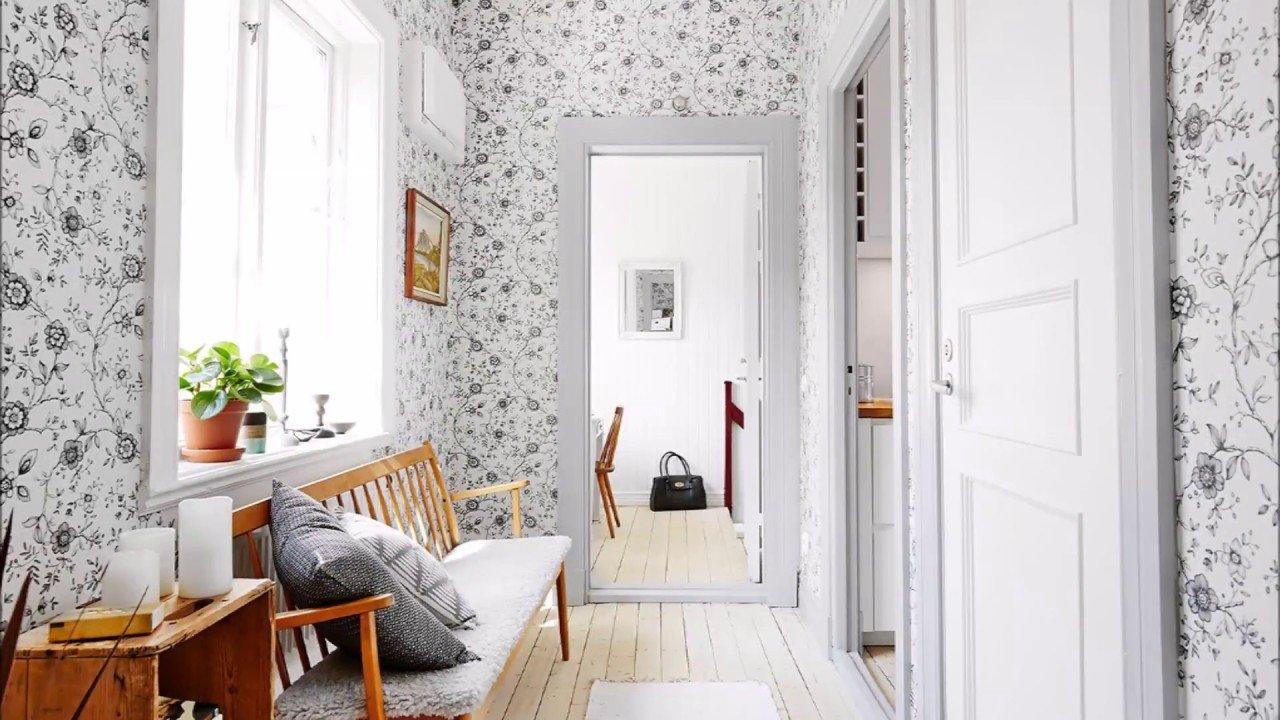 Обои в коридор (74 фото идеи дизайна прихожей в квартире)