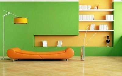Покраска стен в квартире +60 фото примеров в интерьере