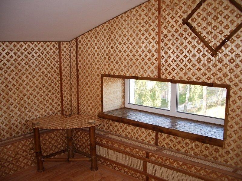 Узорчатая пробка для декора стен