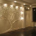 Рисунки на стенах в интерьере 75 фото идей