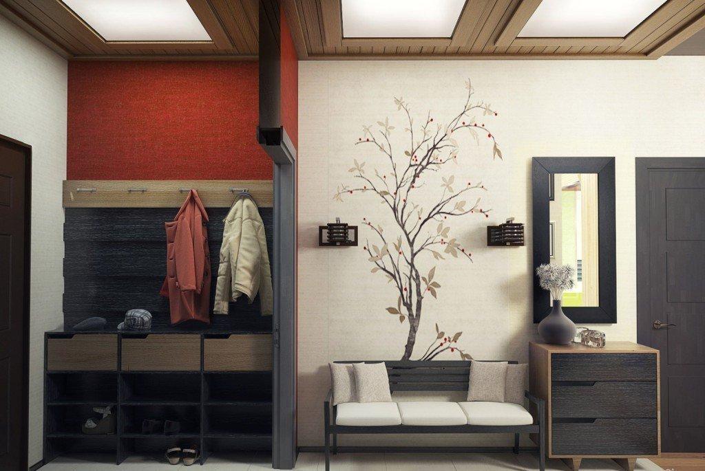 Мебель в интерьере современной прихожей