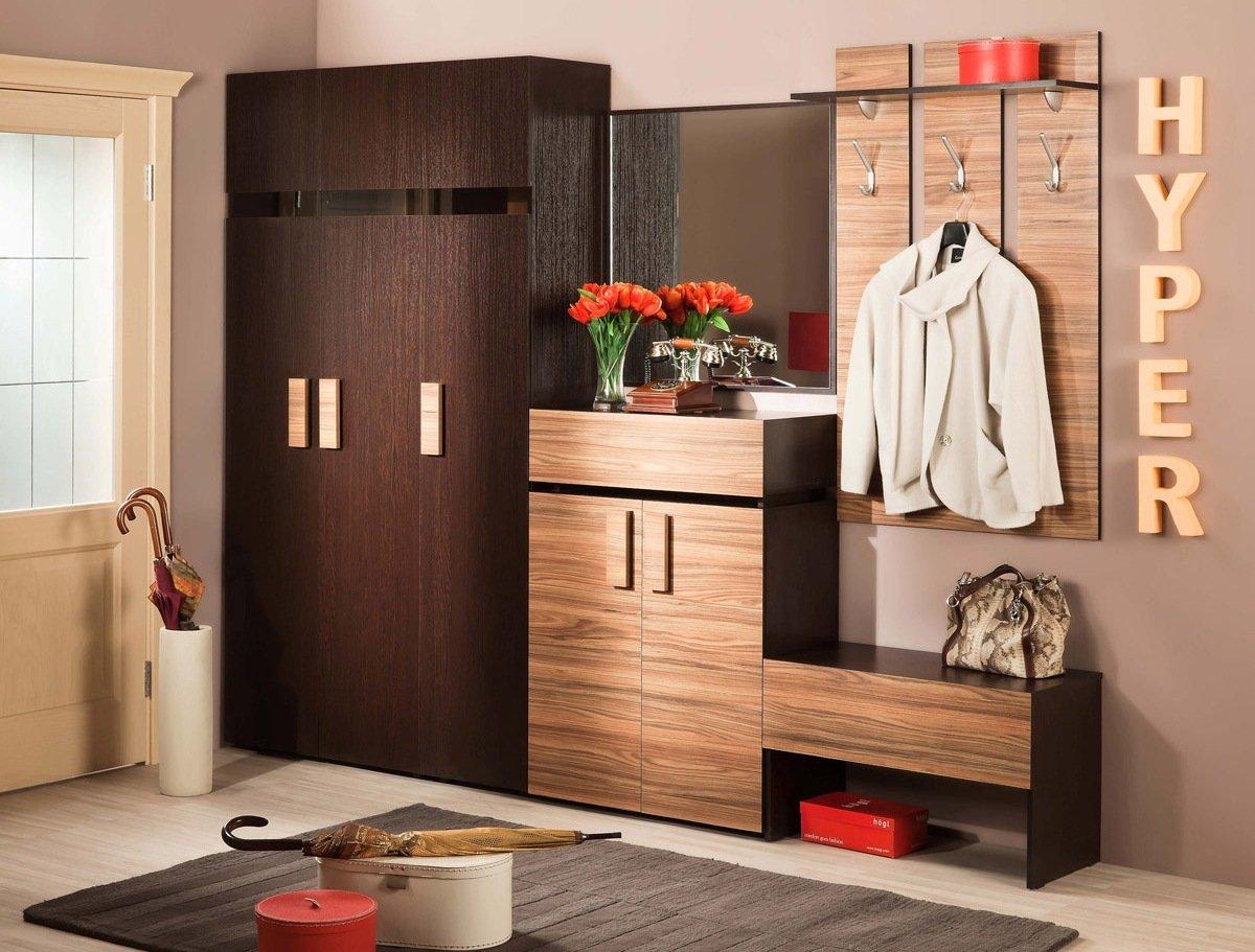 Мебель для хранения в интерьере современной прихожей
