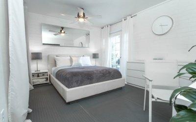 Спальня в серых тонах +60 фото идей