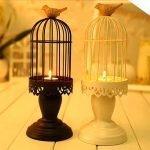 Подсвечники с птичками