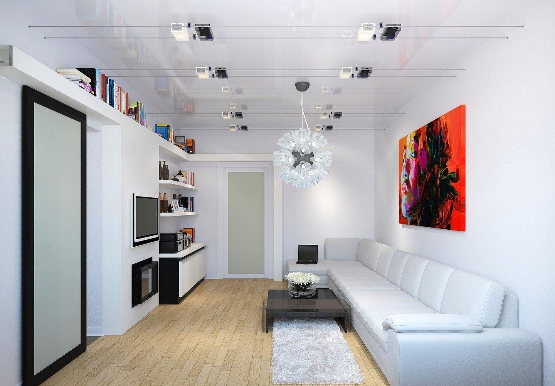 Белый декор зала