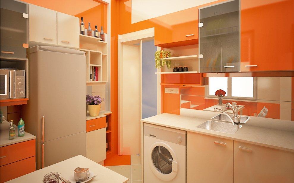Маленькая кухня в квартире