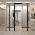 Декор шкафа с зеркалами