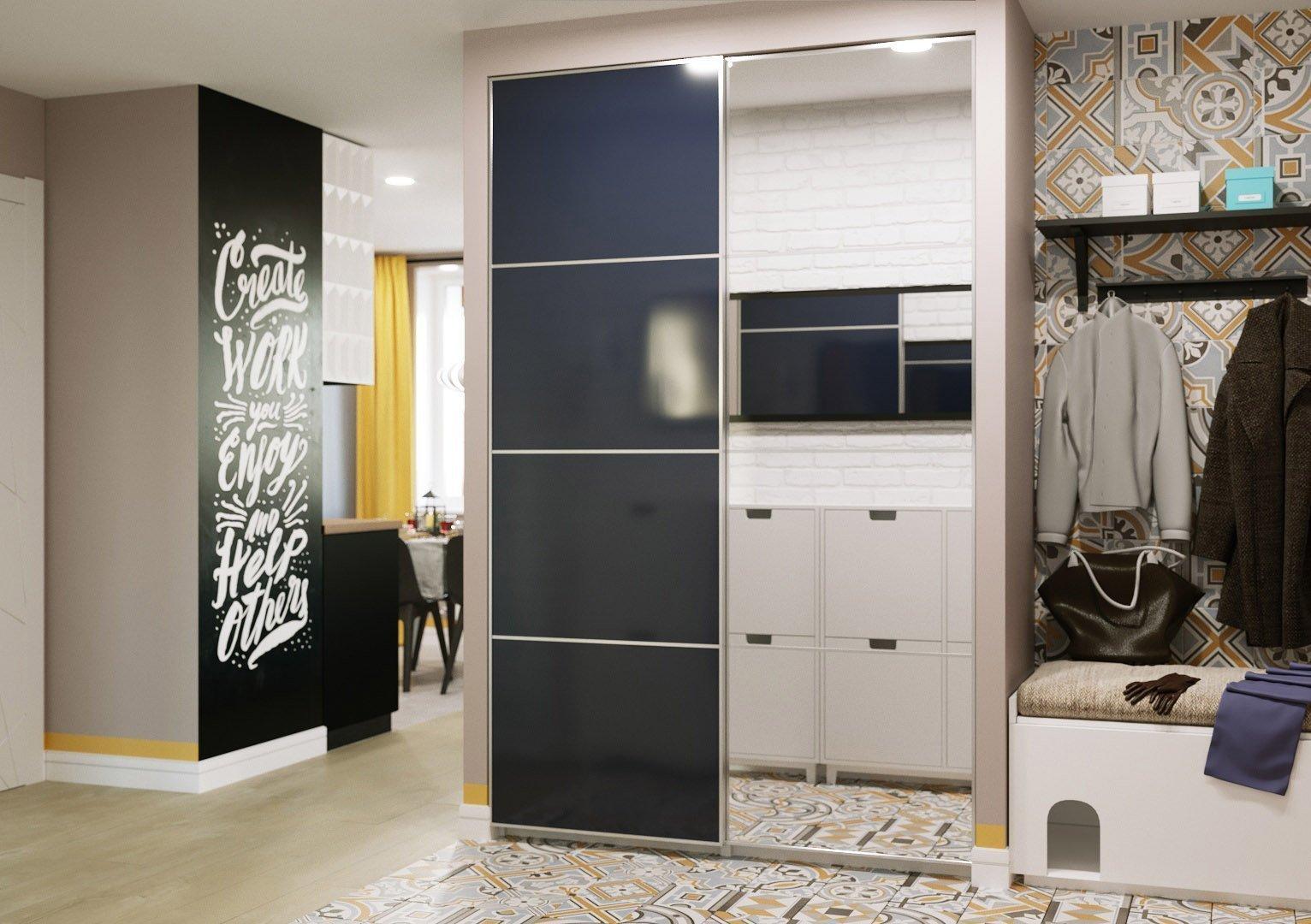 Стильный шкаф для квартиры