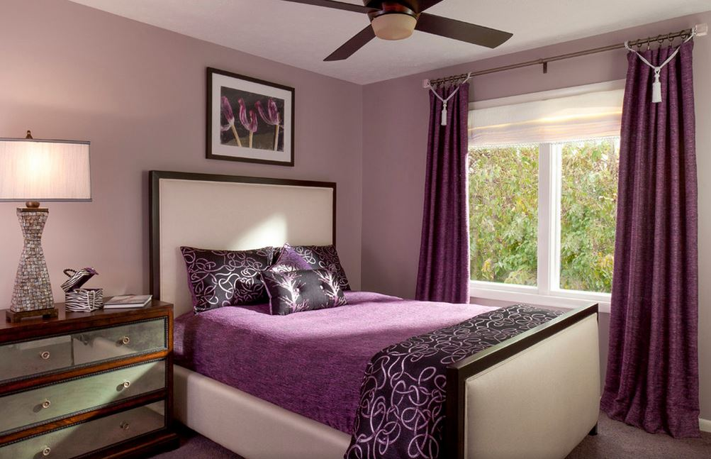 Арт-деко в стиле спальни