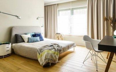 Дизайн спальни 16 кв. м +50 фото идей интерьера