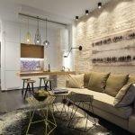 Квартира-студия 26 кв м в стиле лофт