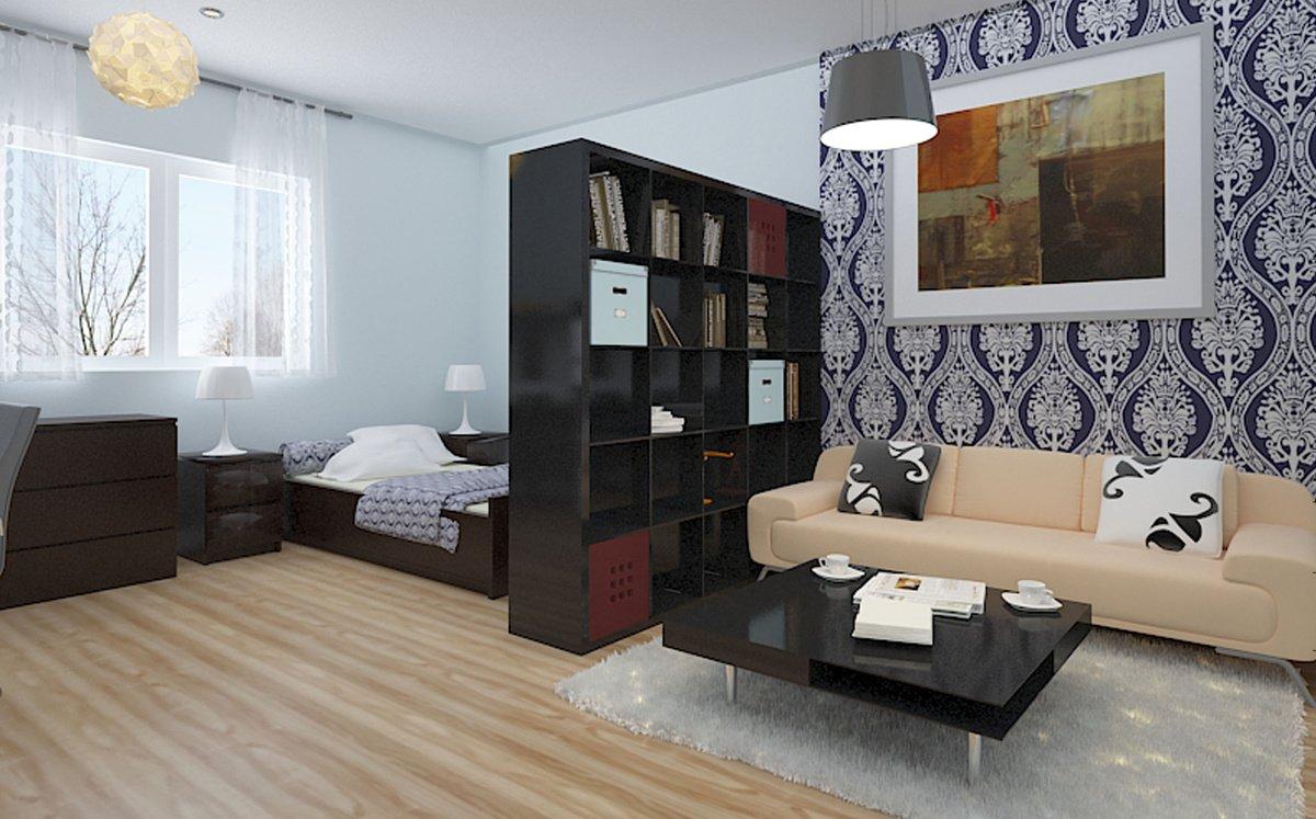 Дизайн однокомнатной квартиры малогабаритки