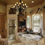 Королевский декор ванной