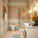 Классический декор ванной комнаты