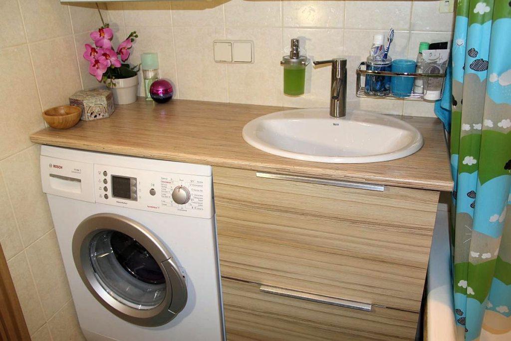 Планировка ванной комнаты со стиральной машинкой