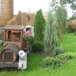 Деревянный грузовик