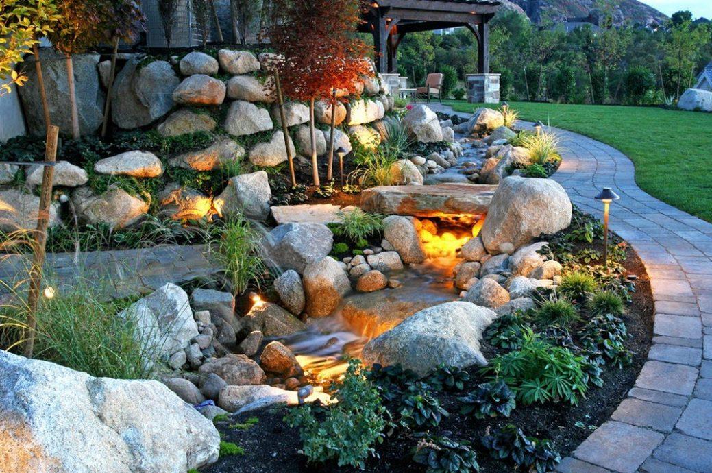 Фото из камней ландшафтный дизайн своими руками