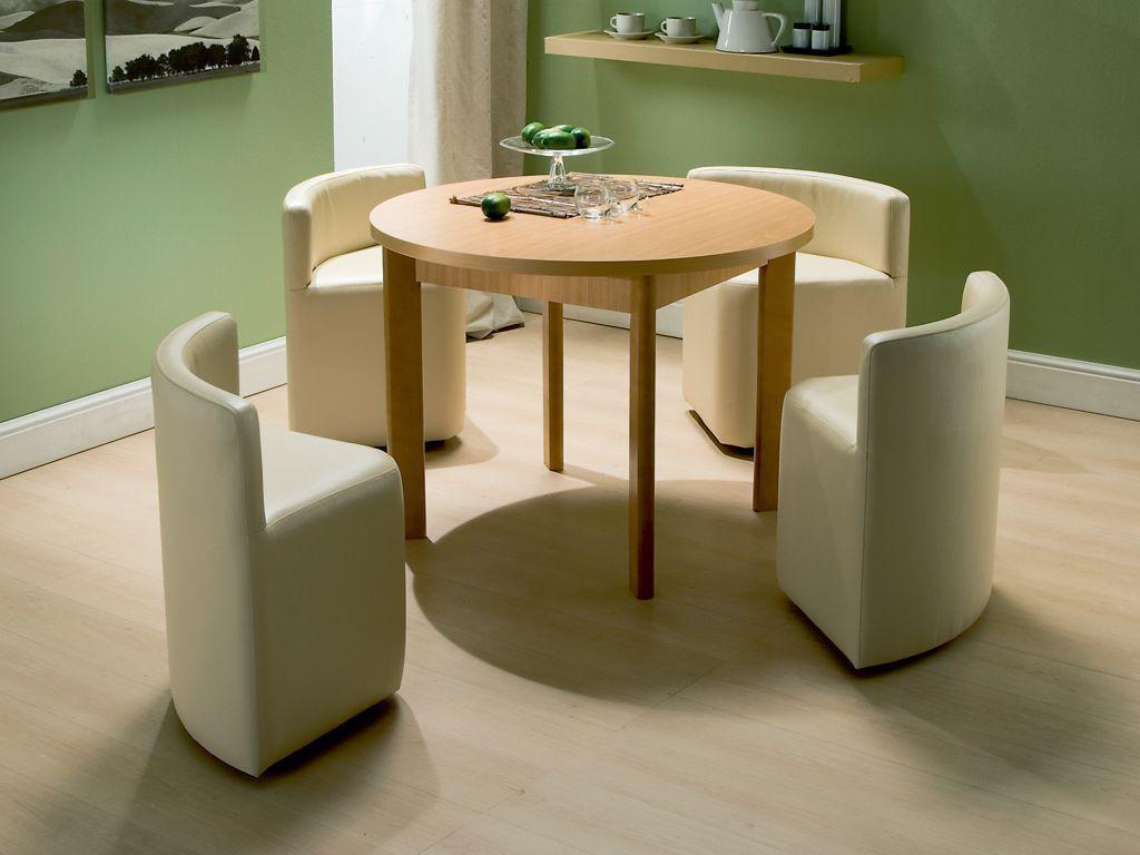 Стол трансформер со стульями для кухни