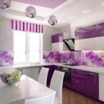 Современный интерьер кухни в квартире