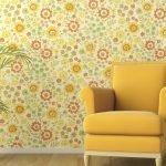 Желтое кресло в интерьере