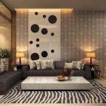 Коврик-зебра у дивана