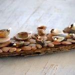 Декор из камней и ракушек