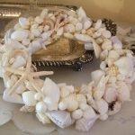 Венок из ракушек и морских звезд
