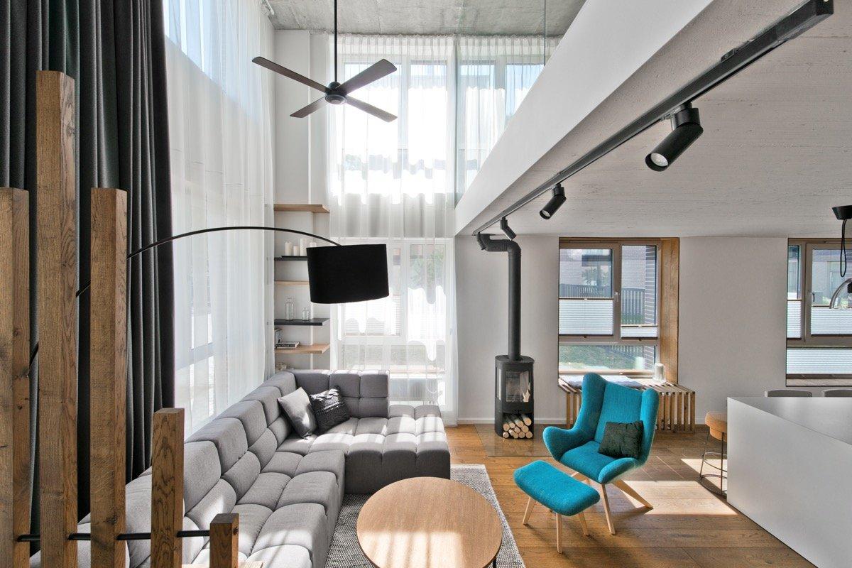 Северный стиль в интерьере дома