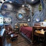 Спальня в виде каюты