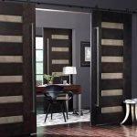 Стильные раздвижные двери