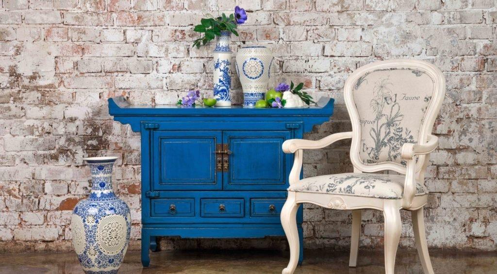 Состаривание мебели