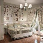 Шебби-шик в интерьере спальни